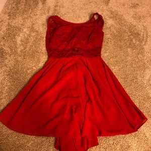 Dresses & Skirts - Red Romper from Rome italy